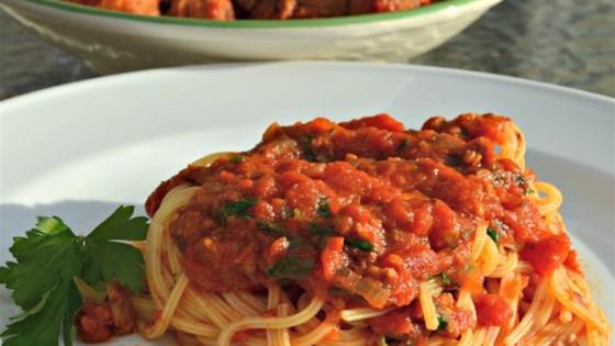 Italian Meat Sauce II
