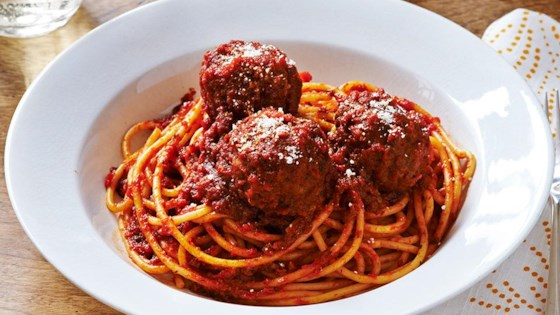 Photo of Mama's Best Ever Spaghetti & Meatballs by RAGÚ®