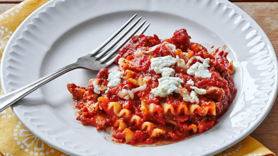 Photo of Weeknight Skillet Lasagna by RAGÚ®