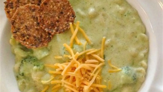 Photo of Broccoli Cheese Soup with Pasta Shells by Horizon Organic