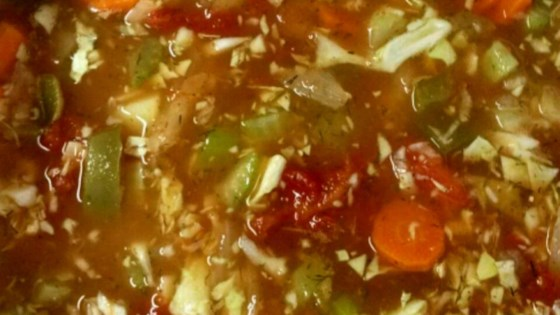 Photo of Fat-Free Vegetable Soup by William Anatooskin