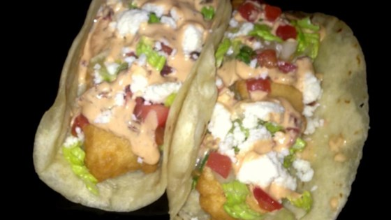 Chipotle Lime Cod Fish Tacos