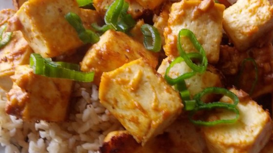 Photo of Spicy Baked Tofu by Shelley W.