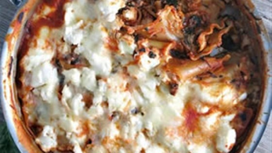 Photo of One-Pot Spinach Mushroom Lasagna by RAGÚ®