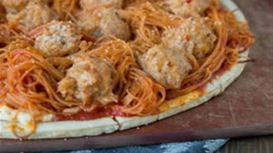 Photo of Spaghetti and Meatball Pizza by RAGÚ®