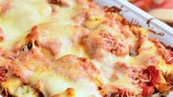 Photo of Layered Chicken Parmesan Gnocchi Bake by RAGÚ®
