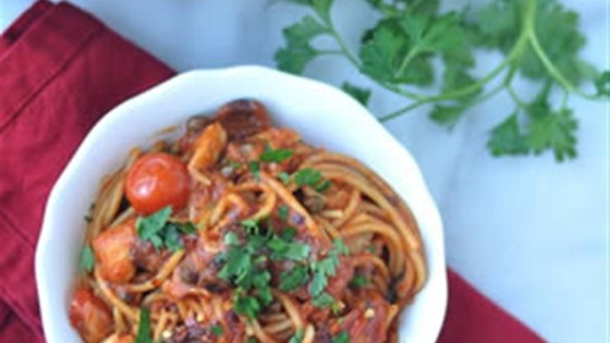 Photo of Easy One-Pot Pasta Puttanesca by RAGÚ®