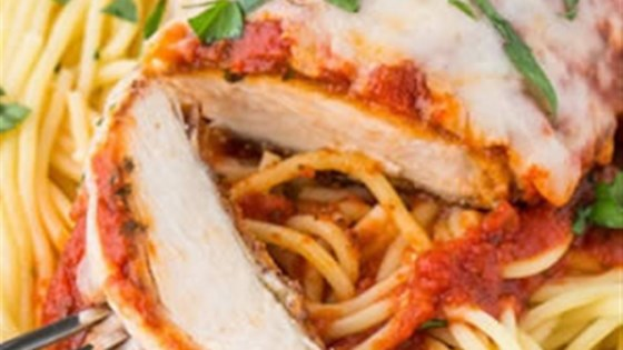 Photo of Weeknight Baked Chicken Parmesan by RAGÚ®