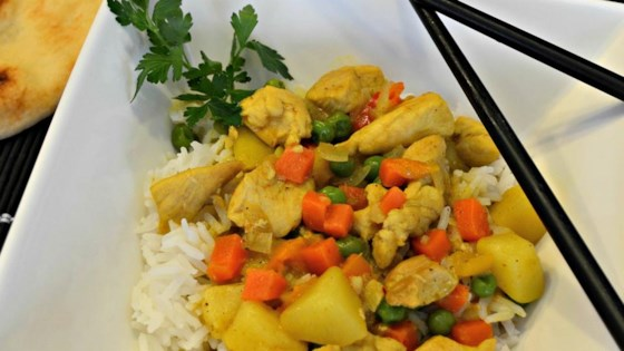 Photo of Yellow Curry Chicken with Jasmine Rice by Matt