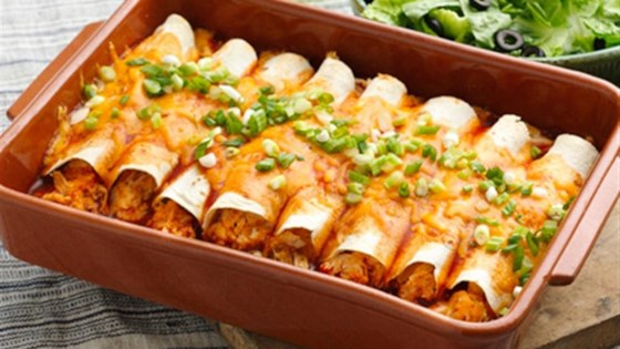 Photo of Easy Creamy Chicken Enchiladas by Old El Paso