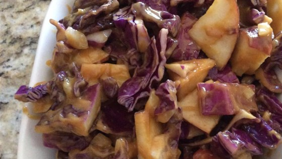 Photo of Purple Apple Slaw with Peanut Butter Dressing by BOBNYRI