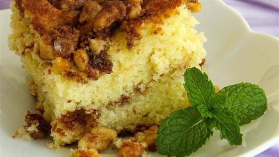 Photo of Cinnamon-Laced Coffee Cake by Shawnee