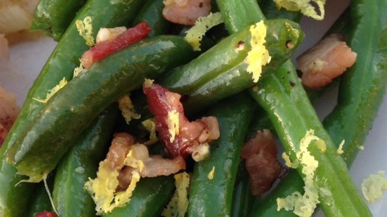 Photo of Bacon-Garlic Green Beans by markfernandez