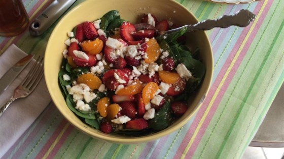 Photo of Strawberry Spinach Salad III by Karen David
