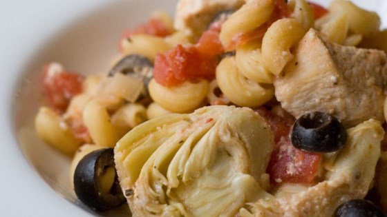 Photo of Greek Chicken Pasta by Lalena