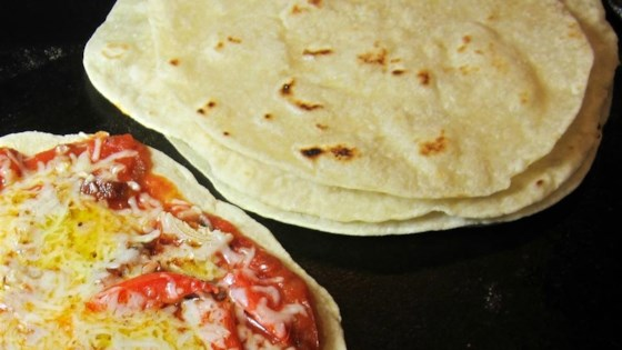 Photo of Skillet Garlic Flatbread by laurieish