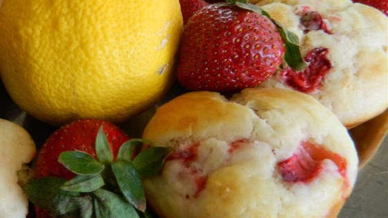 Photo of Strawberry Lemonade Muffins by HJStrang
