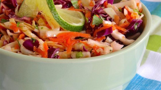Photo of Tri-Color Slaw with Lime Dressing by sjc