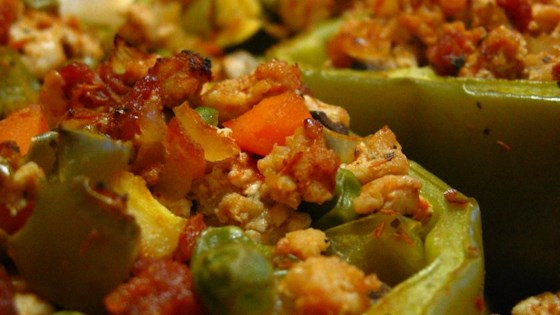 Photo of Stuffed Peppers with Turkey and Vegetables by LSMITHNY21