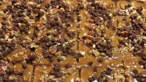 Photo of Toffee Pie Bars by MARBALET