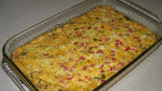 Photo of Spicy Sausage Quiche by SERINA STONE
