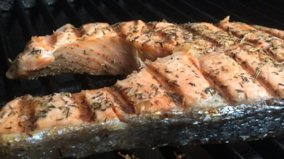 Photo of Grilled Salmon Steaks Italian-Style by Wolfman's Bro