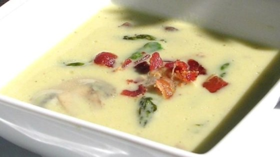 Photo of Cream of Asparagus and Mushroom Soup by Kristy