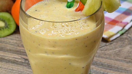 Photo of Crunchy Pineapple Smoothie by Alexandria Sanders