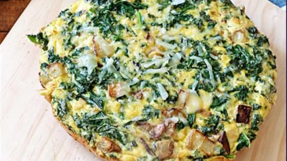 Photo of Potato, Kale and Pecorino Frittata by Potato Goodness