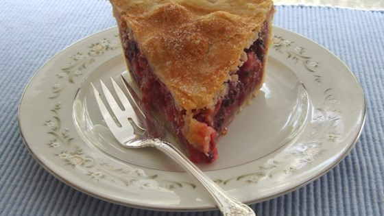 Photo of Berry Rhubarb Pie by Susan Gills