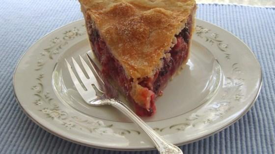 Berry Rhubarb Pie Recipe