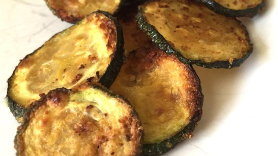Photo of Easy Baked Zucchini Chips by Lorie