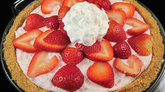 Photo of DanDan's Strawberry Cream Pie by Rhonda Brock Fuller
