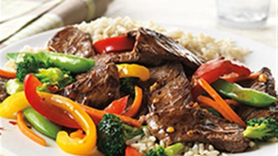 Photo of Asian Beef and Vegetable Stir-Fry by Beef. It's What's for Dinner.