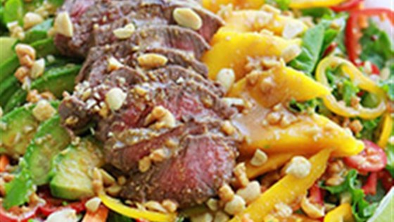 Photo of Easy Sirloin Thai Salad by Beef. It's What's for Dinner.