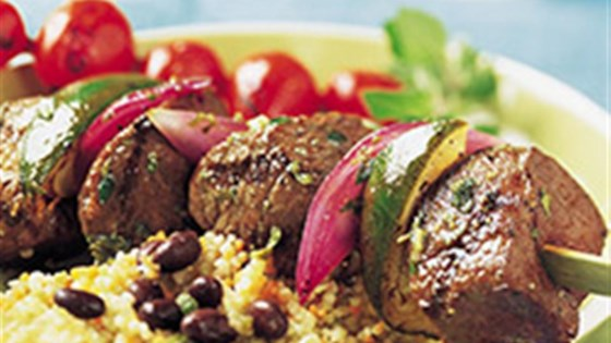 Photo of Mojo Beef Kabobs by Beef. It's What's for Dinner.
