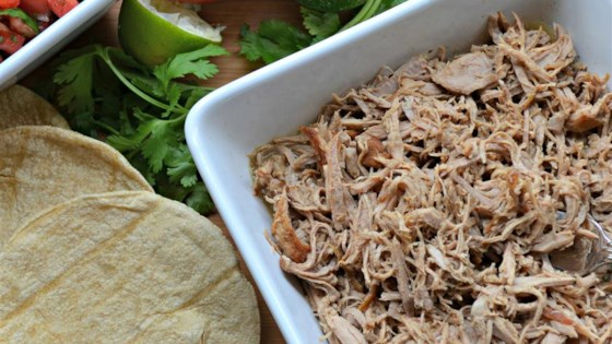Slow Cooker Puerto Rican Shredded Pork Recipe