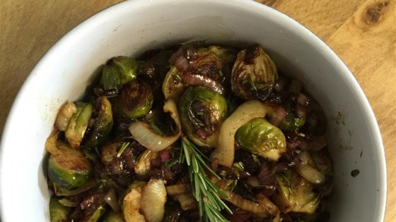 Photo of Balsamic-Glazed Brussels Sprouts by Barbara Zernicke