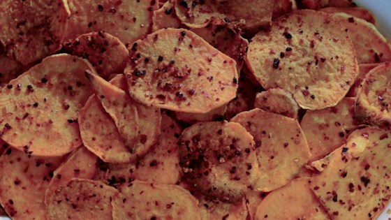 Photo of Baked Sweet Potato Chips by Swiftly Sherlock