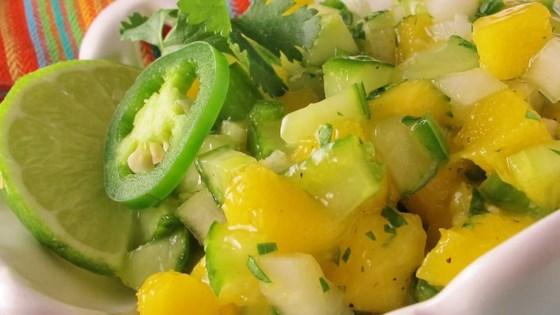 Photo of Cucumber-Mango Salsa by Chrissy