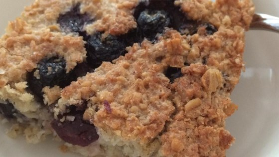 Photo of Coconut-Blueberry Baked Oatmeal by OlliesMom