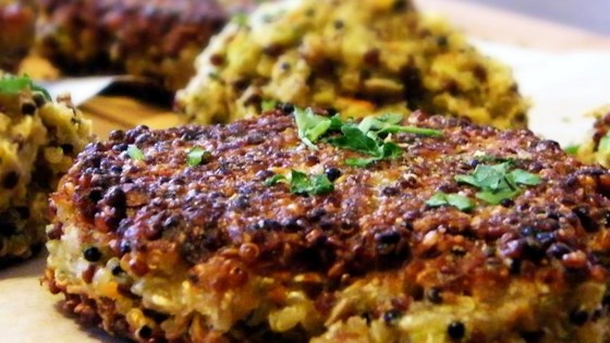 OMG! Quinoa Patties