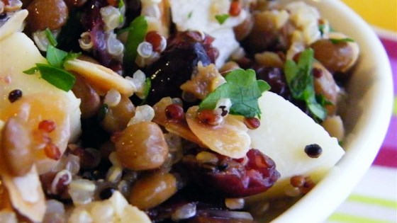Photo of Cranberry Lentil and Quinoa Salad by CeliaBelia