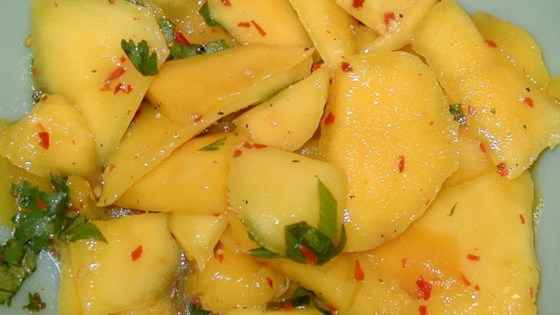 Photo of Spicy Mango Salad by MIREILLE67