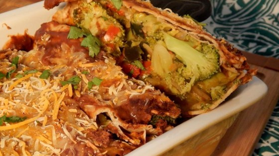 Photo of QOB Veggie Enchiladas by J. Stewart