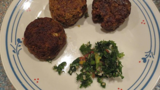 Photo of No Bean Veggie Burgers by Crystal R.