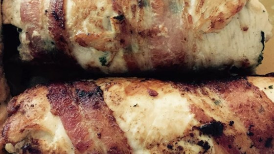Photo of Chicken Breast Stuffed with Spinach Blue Cheese and Bacon by Judy