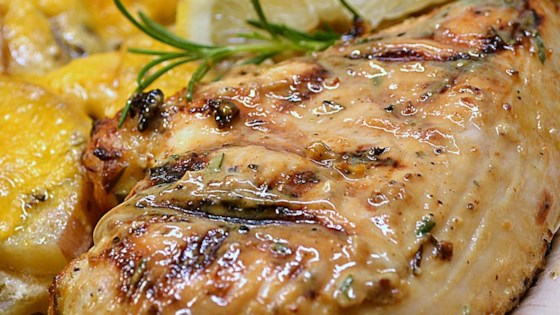 recipe Grilled lemon chicken breast
