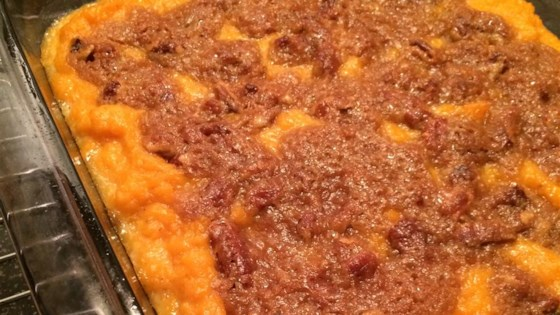 Photo of Chef John's Sweet Potato Casserole  by Chef John