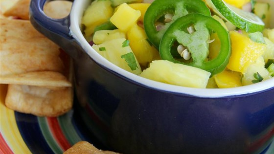Photo of Mango Pineapple Salsa by hynesey